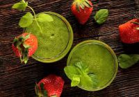 2 green smoothie's