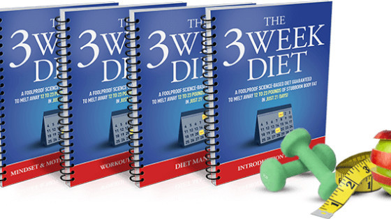 lose weight with the 3 weeks diet plan